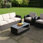 3 Seat Sofa Patio Set