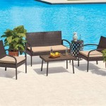 Brown Wicker Patio Furniture Big Lots