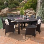 Chocolate Brown Wicker Patio Furniture