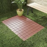 Interlocking Outdoor Patio Tile Flooring