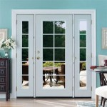Masonite Venting Sidelite Patio Doors