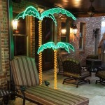 Outdoor Patio Palm Tree Lights