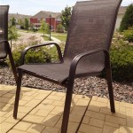 Paint Rusted Metal Patio Furniture