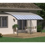 Palram Aluminum And Polycarbonate Patio Cover