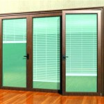 Sliding Glass Patio Doors With Blinds Inside